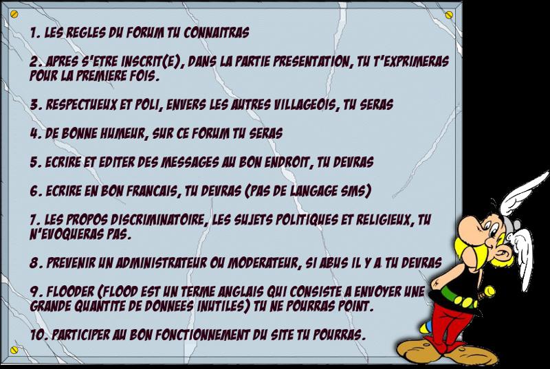 Charte du Forum  Regles11